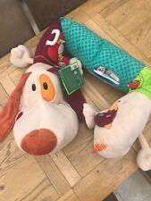 Lilliputiens Jef Activity Dog Large Plush Baby Activity Toy BNWT