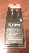 Gigaware 3-Ft. USB-A Male To USB-B Male Cable Brand New #26-712