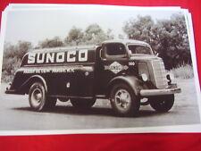 1938 MACK SUNOCO TANKER  TRUCK PARISH NEW YORK   11 X 17  PHOTO   PICTURE