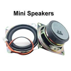 2INCH 4OHM 3W FULL RANGE MINI SPEAKER FOR STEREO LOUDSPEAKER BOX DIY TALK