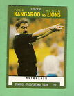 1991 RUGBY LEAGUE CARD #170 KANGAROOS V LIONS