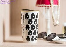 New Asian Limited Edition Starbucks 2017 Alice + Olivia Double Wall Mug Tumbler