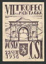 Italia 1956 mostra filatelica Montagnana cartolina exposición Carte c9448