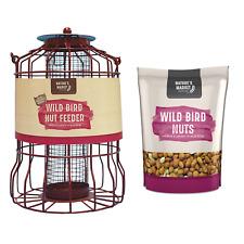 Wild bird squirrel guard nut peanut feeder feed combinations deals