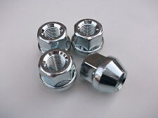 A Set of 4 Open Ended Wheel Nuts M12 x 1.5mm For STEEL WHEELS ONLY (PE1024)
