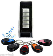 Anti-Lost Alarm: Wireless Key Finder Set 5 Receiver: Mobile Wallet Purse Luggage