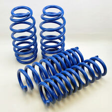 "Chrysler 300C Dodge Charger 05-10 1.5"" Drop Blue Suspension Lowering Springs Kit"