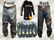 PAINTBALL  PANTS, JERSEY & 5 POD PACK  (YELL) FREE PODS