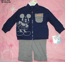 :-)**DISNEY BABY MICKEY MOUSE 3PC JACKET SET SIZE 3-6M***BRAND NEW!!