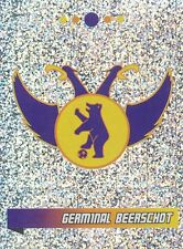 N°202 ECUSSON BADGE # BELGIQUE GERMINAL BEERSCHOT STICKER PANINI FOOTBALL 2011