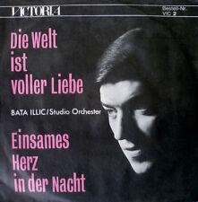 """7"""" 1968 RARE MINT! BATA ILLIC Die Welt ist voller Liebe"""