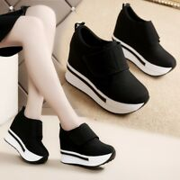 Women's Casual Sneakers Outdoor Athletic Sports Shoes Walking Running Lace Up