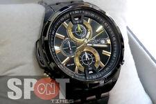 Casio Edifice Neon Illuminator Chronograph Men's Watch EFR-536BK-1A9V