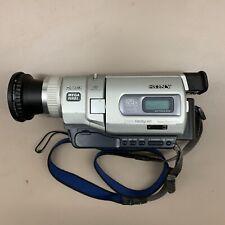 Sony Handycam DCR-TRV840 Digital 8 Camcorder Video Camera Untested No Charger