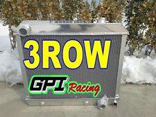 3 ROW CORE Aluminum Radiator FOR Chevy Truck C10 C20 C30 1963 1964 1965 1966