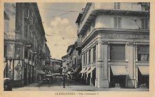 7432) ALESSANDRIA, VIA UMBERTO I. ANIMATA, MONFERINI.