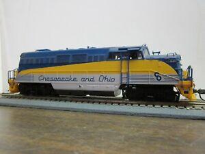 HO Vintage Chesapeake & Ohio #1845 BL2, DC, no box