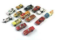 Job Lot Vintage Play Worn Diecast - Tomica Yatming Corgi - Matchbox - Hot Wheels