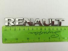 RENAULT CLIO SCENIC MEGANE REAR BADGE  (B270)