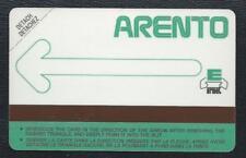 EGYPT 1986 - ARENTO green arrow flèche vide test 300ex Egypte MINT URMET RARE RR