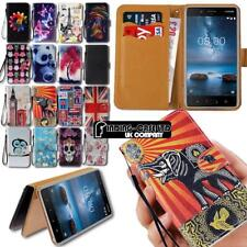 For Various Nokia Asha SmartPhones Leather Smart Stand Wallet Case Cover