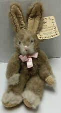 Russ Hopscotch Bunny Rabbit Plush Stuffed Animal Heartcraft Collection w/Tags