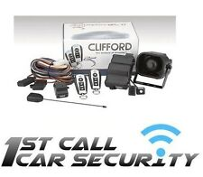 Clifford Arrow 5.1 Car Alarm Immobiliser fully fitted To A Vaxhall Corsa C
