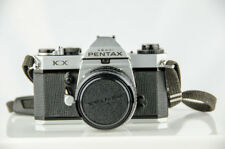 Vintage Pentax KX 35mm SLR Film Camera w/ Pentax F1.8 55mm Lens