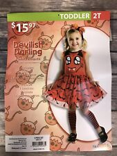 Devilish Darling Costume by Palamon Toddler 2T