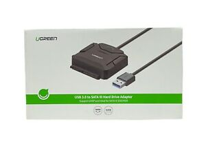 UGREEN SATA to USB 3.0 Adapter for 3.5 & 2.5 SSD HDD SATA III Hard Drive UASP