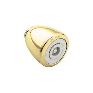 Moen Villeta OEM 3906P Polished Brass Showerhead with Easy Clean 400