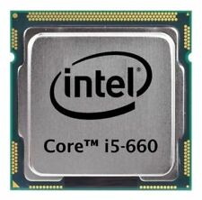 PROCESSORE INTEL CORE I5-660 (2 x 3.33GHZ) SLBTK CPU SOCKET 1156 USATO PERFETTO