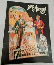 Song of Norway (1970) Film Souvenir brochure/programme.