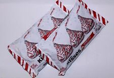 2 Bags Hershey's Kisses CANDY CANE Mint Candy w/ Candy Bits 10 oz Bag ea