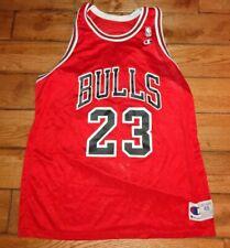 Vintage MICHAEL JORDAN Jersey #23 NBA Chicago Bulls CHAMPION Size 48 Adult