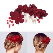 Accessori da sposa per capelli a pettine e fiori crit