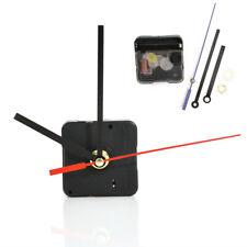 Red Black Silent DIY Clock Quartz Movement Mechanism Hands Replacement Part Ku