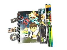 Ben 10 School Pencil, Eraser, Notebook Stationery Set- 1 Pack
