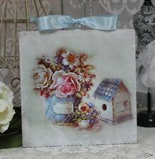 """~ Vintage """"Les Jardin"""" Country ~ Shabby Chic ~ Cottage style ~ Wall Decor Sign ~"""