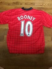 Wayne Rooney Manchester United Soccer Jersey Adult Small