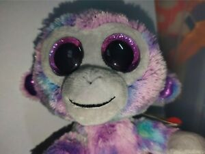 TY BEANIE BOO - Zuri the Monkey - 6-8cm tall - various available