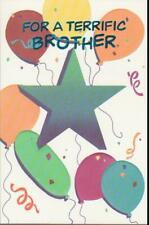 Birthday Greeting Card, FOR A TERRIFIC BROTHER