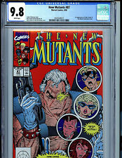 New Mutants #87 CGC 9.8 NM/MT 1990 Marvel Comics Liefeld 1st Cable