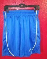 Nike Men's Basketball Shorts Size MEDIUM  Blue Drawstring Good Condition
