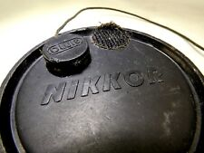 NIKKOR Front Lens Cap Nikon Nikonos 60mm ID slip on for 58mm rim Nippon Kogaku