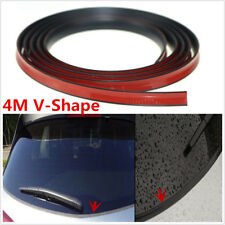 Universal Car Windwhield Rear Window Weatherstrip 4M V Type 18mm Sealing Strips