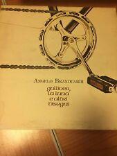 LP ANGELO BRANDUARDI GULLIVER LA LUNA E ALTRI DISEGNI VG+/EX+ ITALY PS 1980 RAI