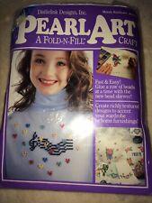 Pearl Art Kit Melody Rainbows Music Hearts Art Craft Clothing Beads New