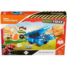 Mattel Mega Construx Bloks DXW46 Dinotrux Ton-Ton & Ace Target Toss Playset