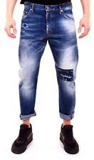 2 in Plusgröße Dsquared Herren-Jeans aus Denim